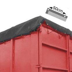 Fijnmazige containernetten