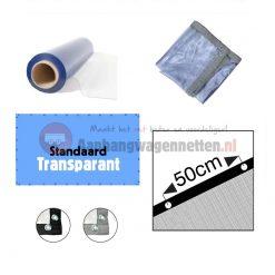 Transparante PVC afdekzezil